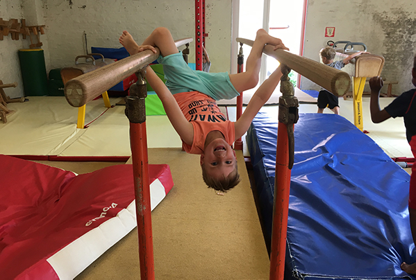 Sportieve aspect van breakdance