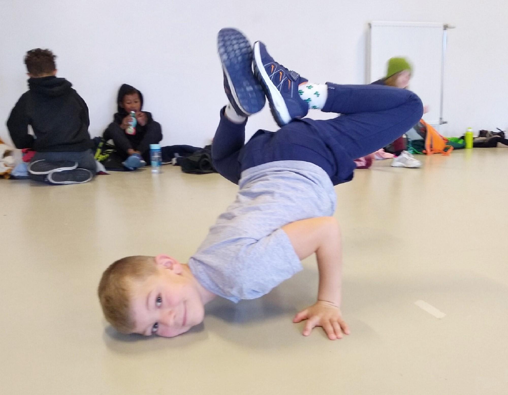 breakdance lessen niveau B